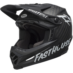 Bell Full-9 Helmet matte black/white fasthouse